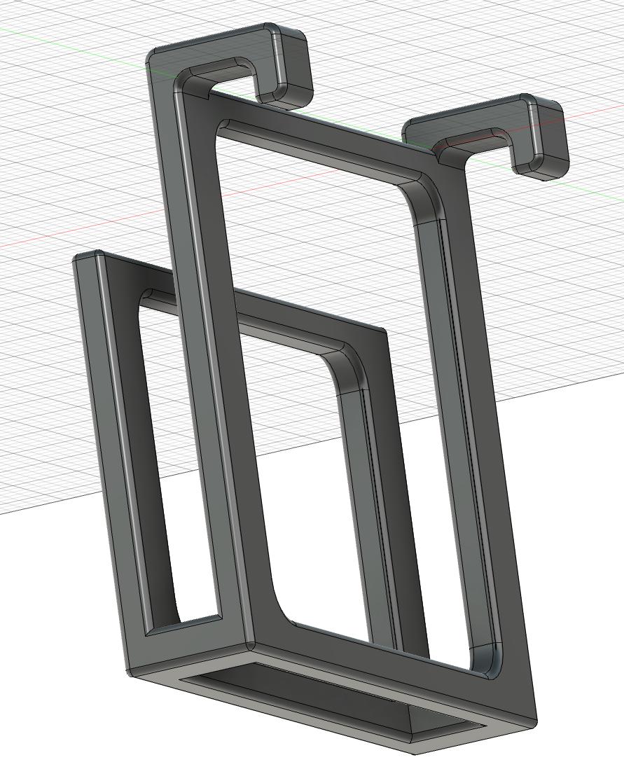 Behind Monitor Keyboard Hook Prototype #1